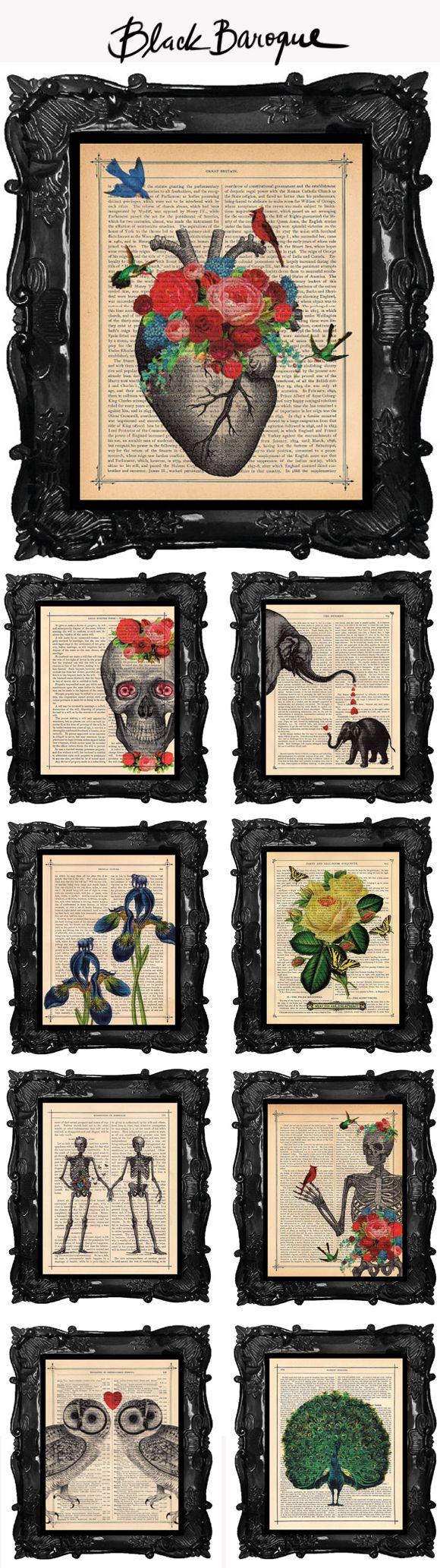 Achados da Bia   Arte   Ilustração   Black Baroque