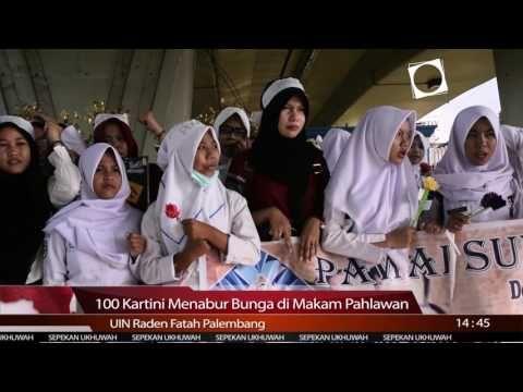 100 Kartini Menabur Bunga di Taman Makam Pahlawan