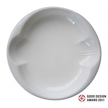 パスタやカレーが食べやすいユニバーサルデザイン食器 MARU200jiki