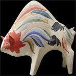 Gene & Rebecca Tobey - Rooster Ceramic