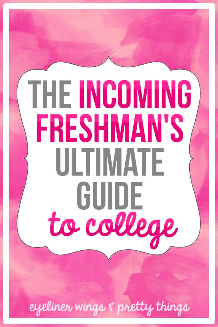 the things you need to know and do as a freshman in college Find out which 5 things you really need for college while college packing lists can be helpful, they often go overboard.