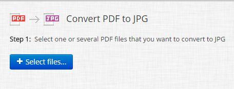 PDF to JPG Converter ONLINE: Easily convert PDF to Image!