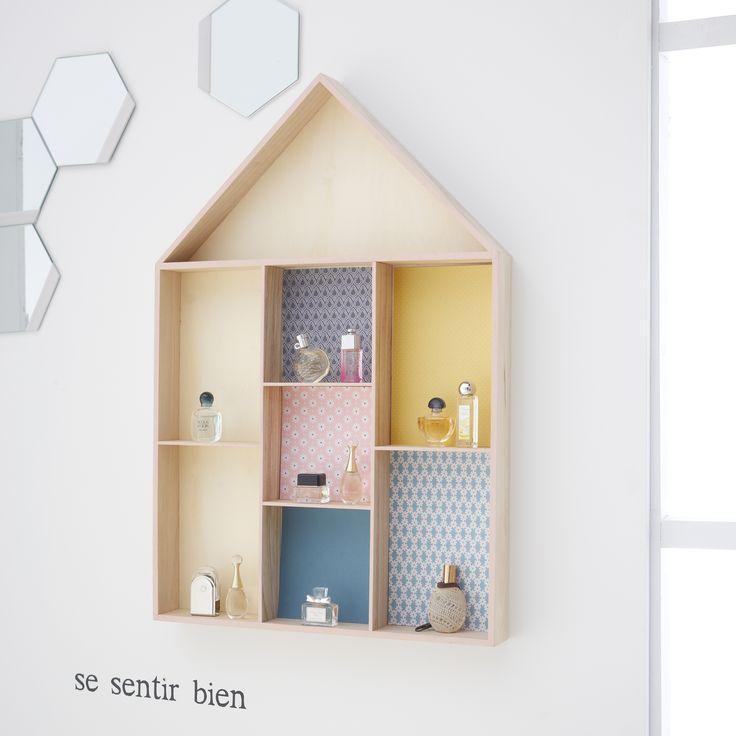 Etagère maison simple