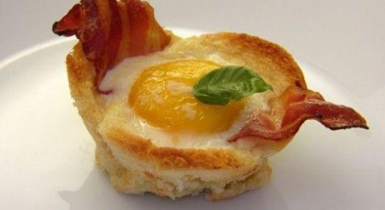 Rýchle raňajky-chrumkavé košíčky