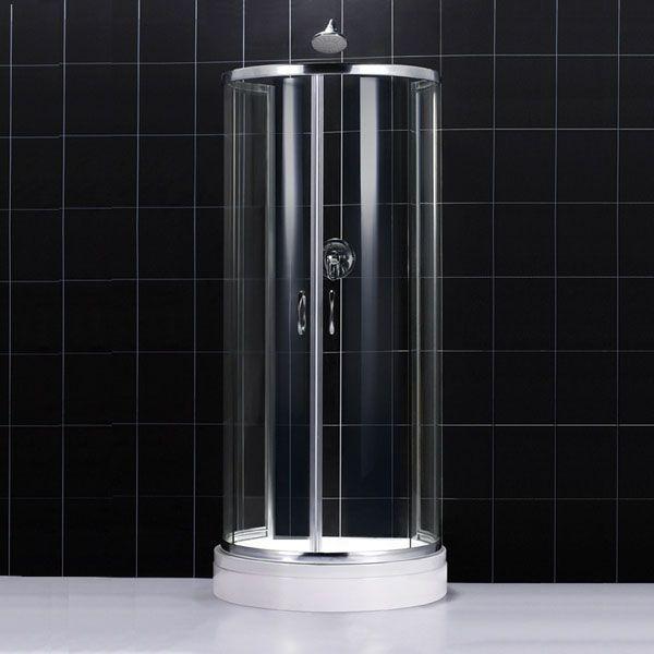 Dreamline Shower Enclosure - Circo 33 7/8 x 33 7/8 x 72 7/8 Shower Enclosure SHEN‐50344416‐01 Chrome