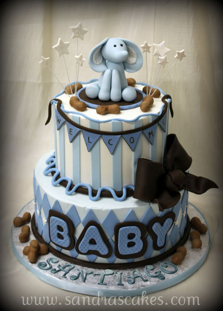 476 Best Baby Shower Cakes Images On Pinterest Conch