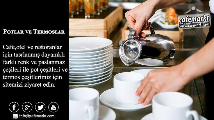 Cafe,otel ve restoranlar için tasrlanmış dayanıklı farklı renk ve paslanmaz çeşileri ile pot çeşitleri ve termos çeşitlerimiz için sitemizi ziyaret edin. http://www.cafemarkt.com #Cafemarkt #Pot #Termos #Alfi #Öztiryakiler #PaslanmazPot #ÇelikTermos #Xtra #WMF