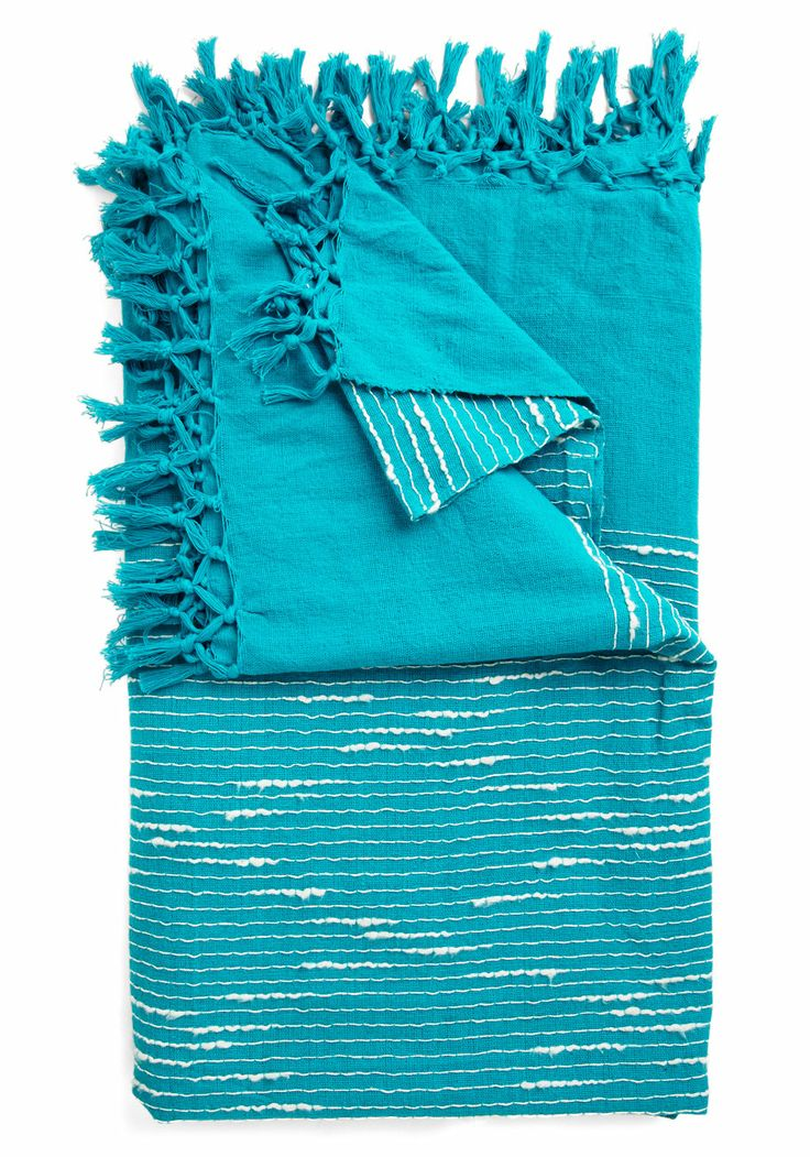 Sea of Dreams Bedspread in Full/Queen Size. Whether youve returned to the deck after a swim in the ocean or youve dried off following a dip in the pool, this bold bedspread beckons you to drift off into a nap with its refreshing style. #blue #modcloth