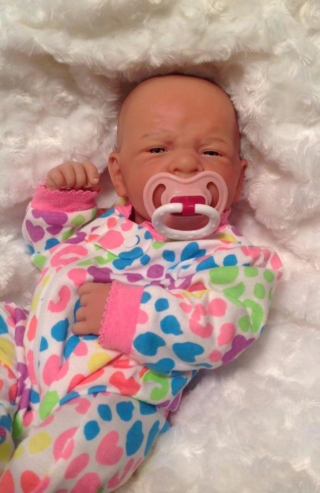 So Cute Berenguer Life Like Preemie Reborn Pacifier -7089