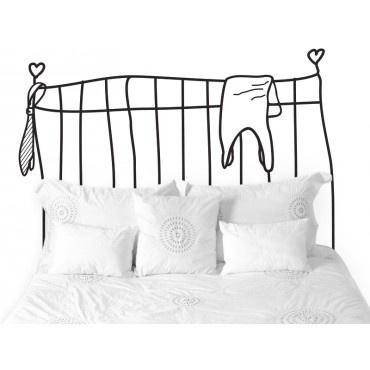 #Vinilos decorativos para el dormitorio. Crea fácilmente un cabecero personalizado para ti. http://imaginashop.com/es/7-vinilos-decorativos