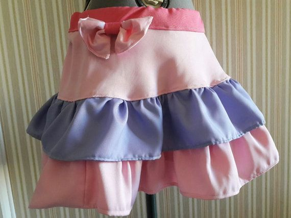 Layered satin skirt MULTIPLE COLORS by KatelilleProductions