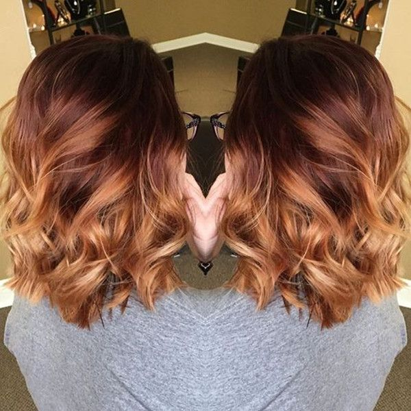 25 trending brown to red ombre ideas on pinterest brown hair 20 shades of copper wonderful pumpkin spice hair for this season pmusecretfo Image collections