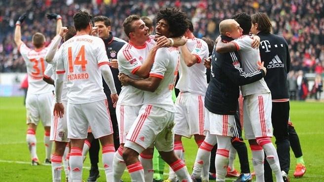 リーグ優勝確定もさらなる栄冠を狙うバイエルン