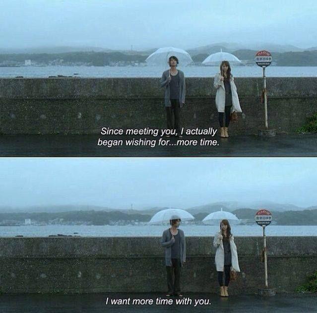 I need more time with you.    Tenshi no koi (2009)