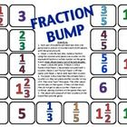 Fraction Bump is a 2-player game that requires students to roll two dice to make a fraction before identifying the fraction in simplest form on the...