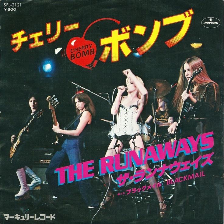 "RUNAWAYS Cherry Bomb JAPAN 7"" SFL-2121"