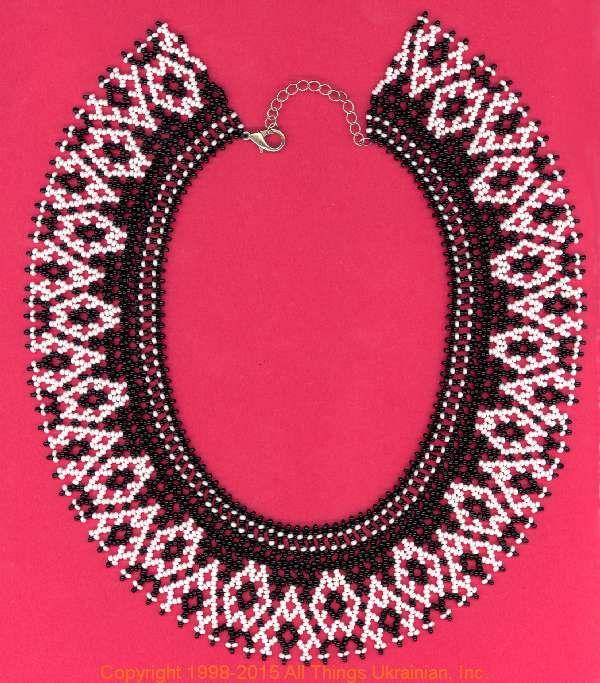 AllThingsUkrainian.com gherdany Bead Jewelry # GIN15142