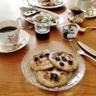 Foto recept: Bananen pancakes met maar twee ingrediënten: banaan en ei