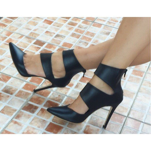 A personal favorite from my Etsy shop https://www.etsy.com/listing/246296345/mystic-black-pumps-pumps-high-heels-high