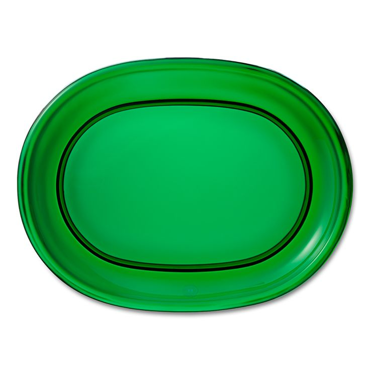 Plate Oval Glass | Svenskt Tenn