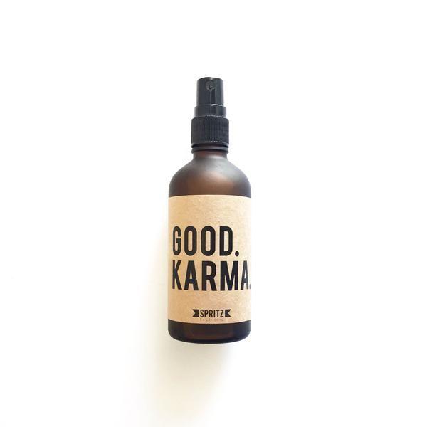 Happy Spritz Good Karma - Rosewater and Aloe Essential Oil Spray