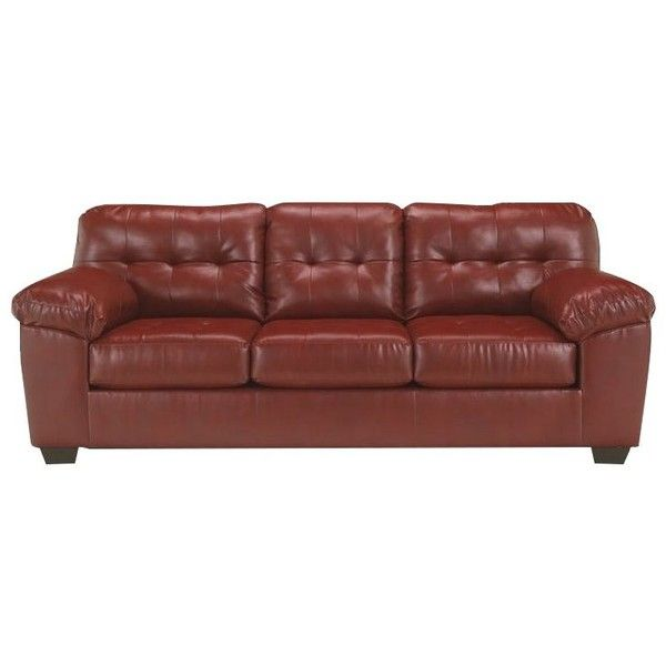 Merveilleux Ashley Furniture Alliston DuraBlend Queen Sleeper Sofa ($839) ❤ Liked On  Polyvore Featuring Home, Furniture, Sofas, Red, Leather Sleeper, ...