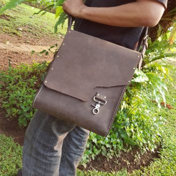 Kulit Asli Crazy Horse Shouder Bag 015