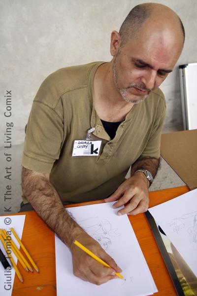 Casty, fumettista Disney, a Kcomixfest