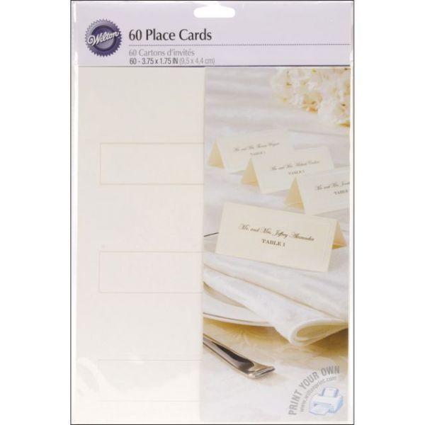 Place Cards 60 Pkg Notm216316 Place Card Holders Place Card Template Place Cards
