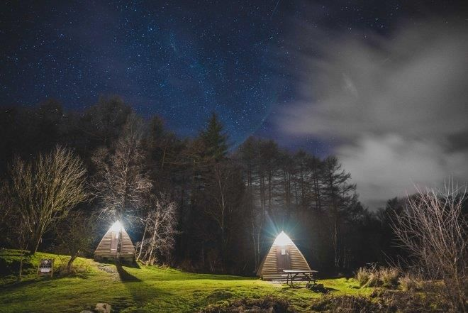 Gorsebank Glamping, Dalbeattie, Dumfries & Galloway. Scotland. UK. Travel. Accommodation. Glamping Pods. Wigwams. Camping. Family Holiday. Staycation. Star Gazing. Dog Friendly. Hot Tub.