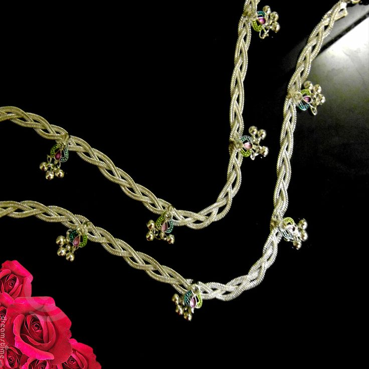 49 Best Images About Anklets Silver On Pinterest Silver