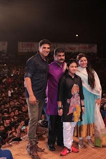 Akshay Kumar at Janmashtami Celebration. | Bollywood Cleavage