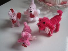 Chenille Pipe Cleaner Dogs - Tutorial