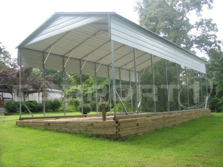 We Offer Steel Carports That Are Used As Motorhome Covers, Travel Trailer  Covers, Camper Covers, ...