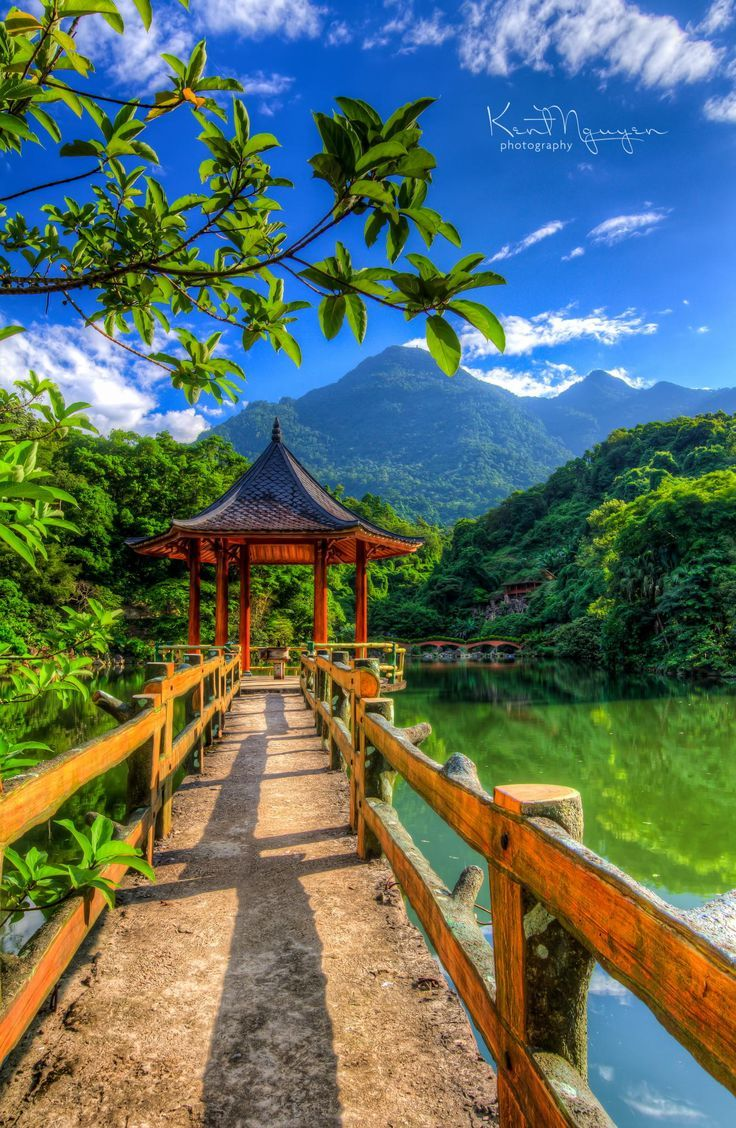 Ba Vi Park near Hanoi, Vietnam  Please like, repin or follow us on Pinterest to…