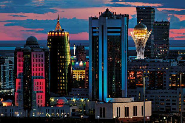 Une capitale tape-à-l'oeilLa nouvelle capitale kazakhe est tout l'opposé de la…