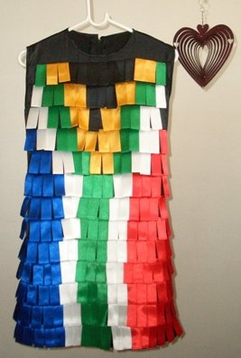 SA Flag dress taking fans by storm!!