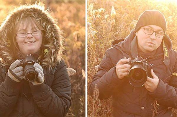 """Φωτογράφος καλεί σε """"μονομαχία"""" την κόρη του που έχει σύνδρομο Down http://down-syndrome.gr/photo/item/265-sebastian-luczywo"""