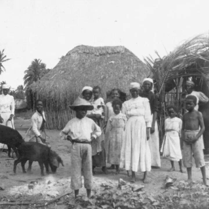 Bohio en Santurce,  San Juan, Puerto Rico (1900)