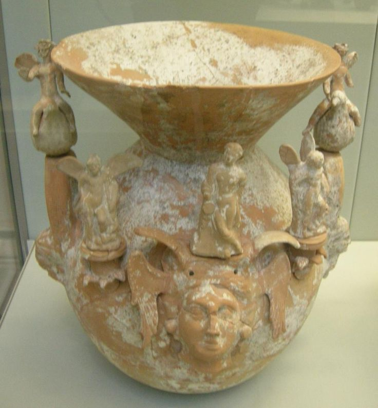 Canosan terracotta,about  4th cent.BC Canosa,modern Puglia,Italy