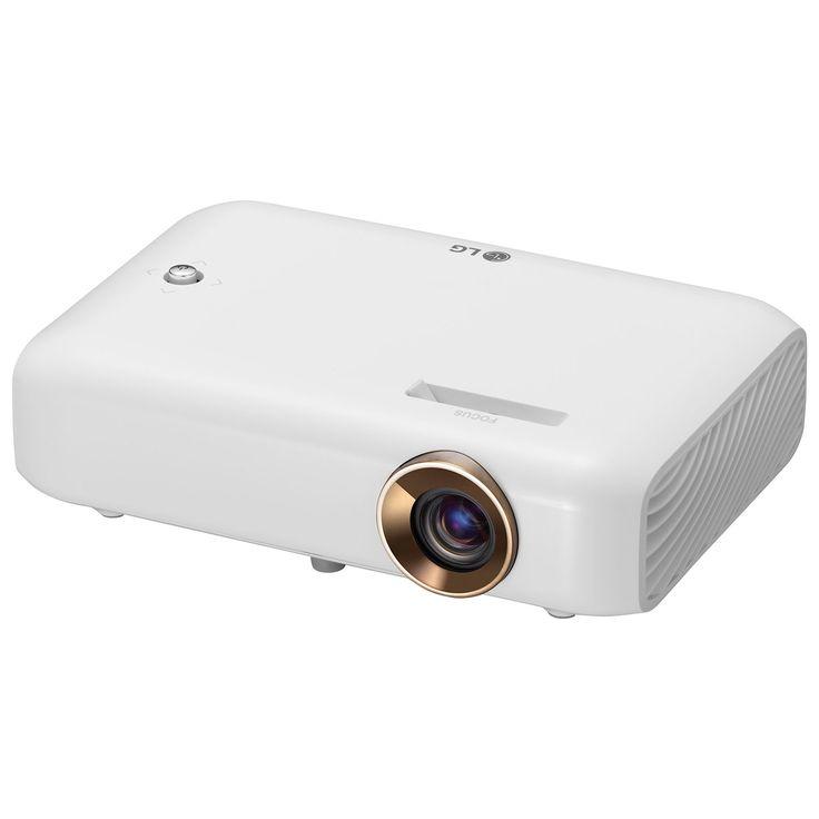 Projecteur HD à DEL avec batterie intégrée et partage d'écran Minibeam de LG…