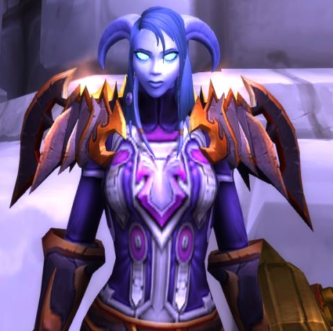 Breastplate of Many Graces | The Cranky Tank's Warrior Transmog Pieces