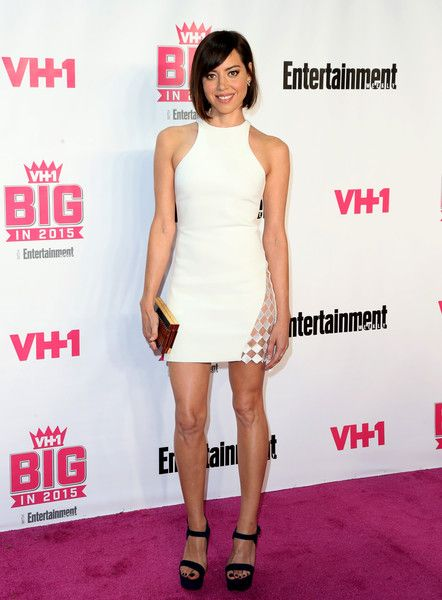 Aubrey Plaza Photos - VH1 Big in 2015 with Entertainment Weekly Awards - Arrivals - Zimbio