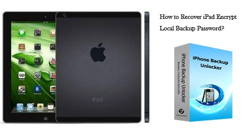 Recover iPad Backup Password