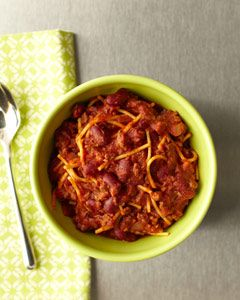 Sweet 'n' Spicy Veggie Chili          Recipe by Colleen Reilly and Derek Ingersoll, ThursdayNightDinner.org