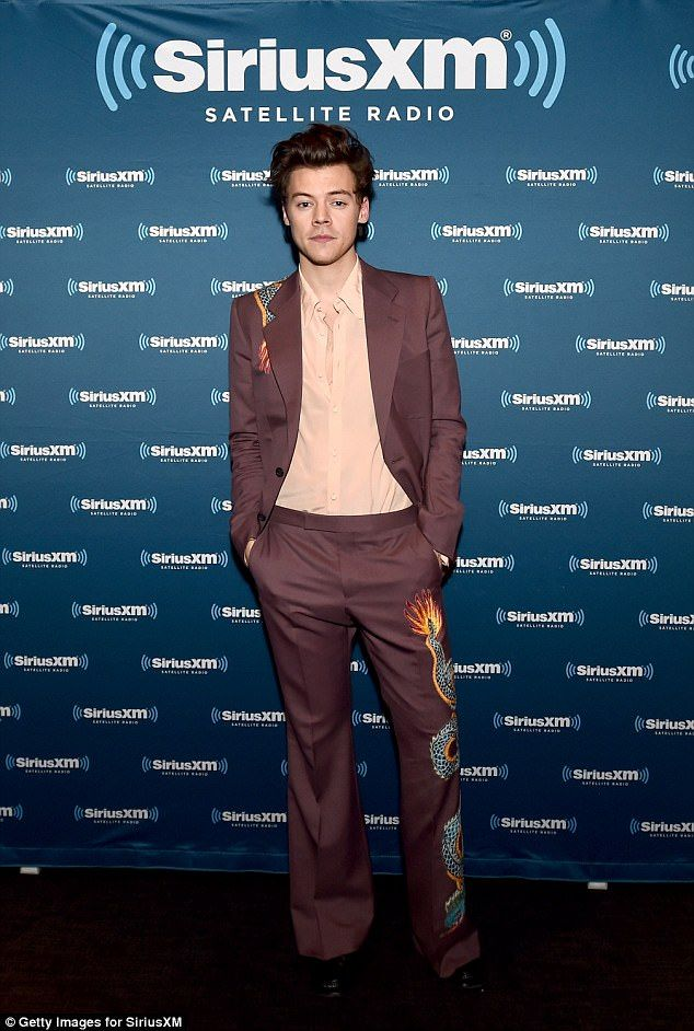 Double whammy: Harry Styles's self-titled debut album reached number one in the UK charts. Follow rickysturn/harry-styles