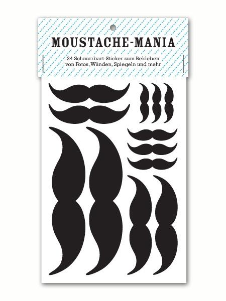 moustache sticker | zeug & gold