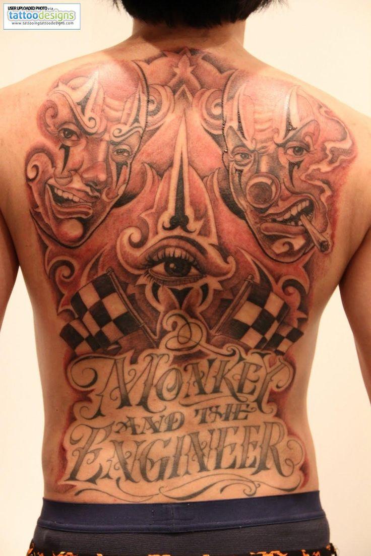 Cartoon tattoo designs on shoulder - Pin Mr Cartoon Tattoos Designs On Pinterest