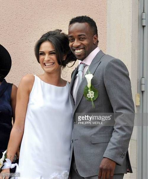 10-31 French football player Sidney Govou and his wife Clemence... #replonges: 10-31 French football player Sidney Govou and… #replonges