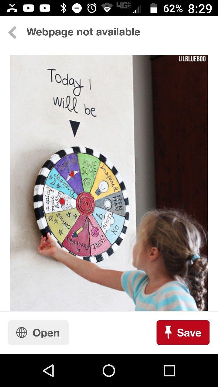 Chore wheel idea